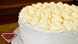 The Best Egg Nog Cake With Egg Nog Buttercream - Holiday Series