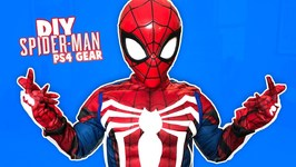 Marvel Spider-Man Ps4 Gear Test Diy Costume