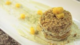 Matcha Green Tea Mango Icebox Cake -Rule Of Yum