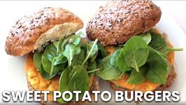 Sweet Potato Burgers