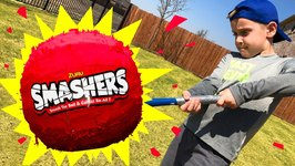Smashers Smash Balls Challenge With Gear Test And Toys Review