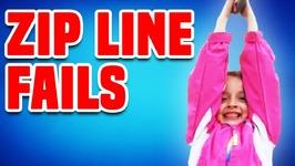 Zip Line Fails - Funny Fails Compilation