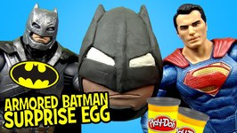 Batman V Superman Toys W Armored Batman Play-Doh Suprise Egg