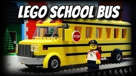Lego School Bus