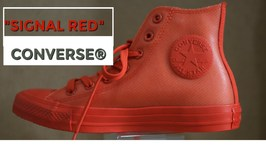 Signal Red Converse - Converse Chuck Taylor Citas Hi Top Red Fashion Sneakers