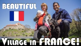 THE MOST BEAUTIFUL VILLAGE IN FRANCE - FAMILY VLOGGERS DAILY VLOG