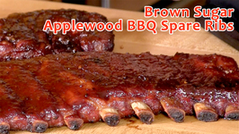 Brown Sugar Applewood BBQ Spare Ribs