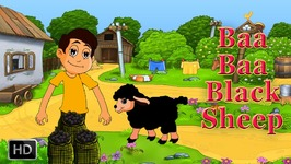 Baa Baa Black Sheep - Nursery Rhymes - Popular Rhymes For Toddlers - Baby Songs - Kids