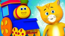 The Pussy Cat Song - Bob The Train - Nursery Rhymes For Children