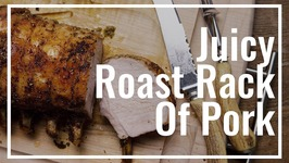 Juicy Roast Rack Of Pork