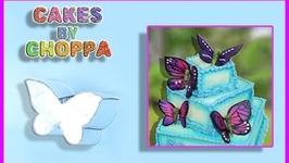 DIY Butterfly Fondant / Gum Paste Cutter (How To)