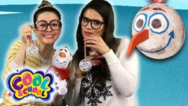 DIY Olaf Frozen Ornament Craft - Fun Kids Christmas DIYs - Arts And Craft With Crafty Carol
