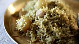 Haryana Aloo Pulao Recipe  Quick & Simple Rice Recipe  Masala Trails With Smita Deo