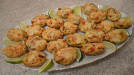 Baked Crab And Smoked Havarti Stuffed New Potato Skins