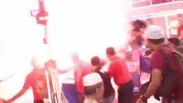 Flare Ignited and Chairs Thrown as Ex-PM Addresses Forum