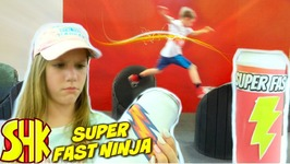 Super Fast Ninja - Obstacle Warrior Kids Course Race SuperHeroKids Skits In  Real Life