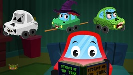 Stories Of The Dark - Little Red Car - Car Songs And Rhymes For Kids