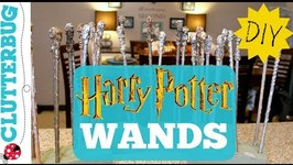 Quick and Easy DIY Harry Potter Wands - Only 25 Cents Each