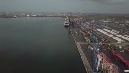Dozens of Supply Containers Idled at Puerto Rico Port, Drone Footage Shows