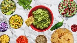 How To Increase The Volume of Guacamole Dip Recipe / Keep Guacamole Green
