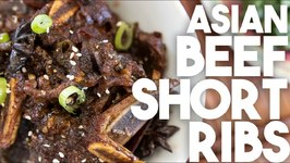 Asian Sticky Beef Short Ribs - Instant Pot - Kravings