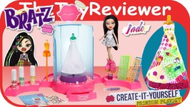 Bratz Doll and Create-It-Yourself Fashion Playset Unboxing Toy Review