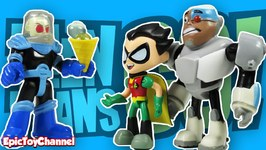 Teen Titans Go Parody Cyborg And Robin Get Tricked By Mr. Freeze A Teen Titans Go Toy Video