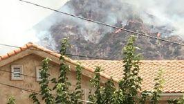 Los Angeles Mayor Declares Local Emergency as La Tuna Fire Burns Close to Homes