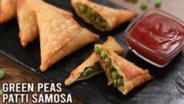 Green Peas Samosa  How To Make Samosa  Hariyali Samosa  Hari Matar Patti Samosa Recipe By Ruchi
