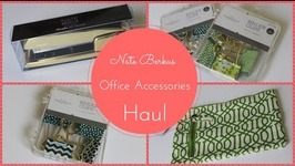 Nate Berkus Office Accessories Haul