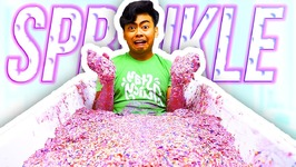 Filling My Bath Tub with Sprinkle Slime