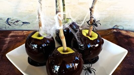 Halloween Recipe-Poison Candy Apples