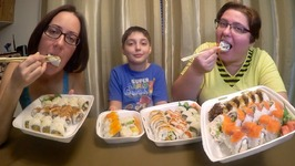 Sushi Extravaganza /Gay Family Mukbang - Eating Show