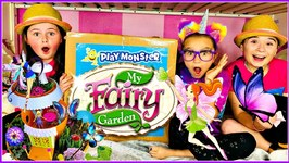 My Fairy Garden Magical Cottage by PlayMonster Grow and Plant FAIRY Toy Set