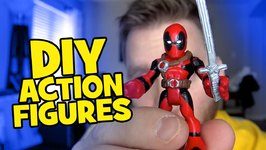 How To Make Diy Custom Imaginext Batman Toys And Playskool Spiderman Toys