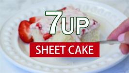 7UP Sheet Cake