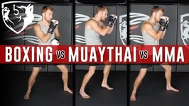 MMA vs Boxing vs Kickboxing - 5 Technical Differences