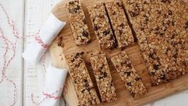 Chocolate Chip Granola Bars - Snack Recipes