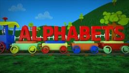 Alphabet Train - Learn the Alphabets