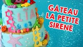 Gâteau La Petite Sirène - Cake Design