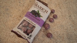 Marich Chocolates Dark Chocolate Blueberries - What I Say About Food