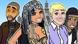 Nicki Minaj - No Frauds Ft Drake, Lil Wayne - Cartoon Parody