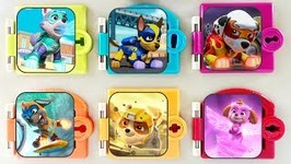 Paw Patrol Mighty Pups Surprise Trapped Doors Toy Box