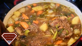 Carolyn's Oxtail Soup - Delicious And Sticks To Ya Ribs