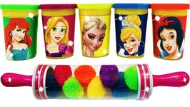 Disney Princess Play Doh Can Heads With Fun Molds And Surprise Toys For Kids