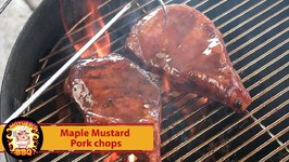 Maple-Mustard Glazed Pork Chops