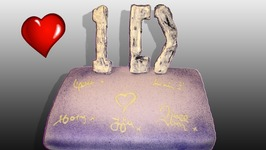 One Direction Autograph Cake (How To)