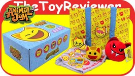Animal Jam Subscription Box Spring 2018 Emote Emoji Unboxing Toy Review