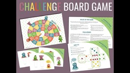 Fun Challenges For Kids - Board Game