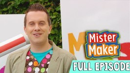 Woolly Pooch Make - Episode 12 - Full Episode - Mister Maker: Comes To Town